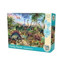 Cobble Hill Prehistoric Party 350 pc Family Puzzle