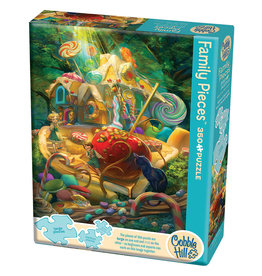 Cobble Hill Candy Cottage 350 pc Family Puzzle