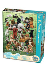 Cobble Hill Puppy Love 350 pc Family Puzzle
