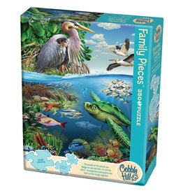 Cobble Hill Earth Day 350 pc Family Puzzle