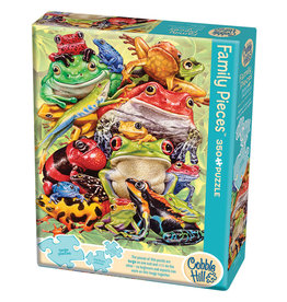 Cobble Hill Frog Pile 350 pc Family