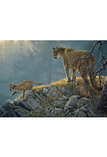 Cobble Hill Excursion - Cougar and Kits 350 pc Family Puzzle