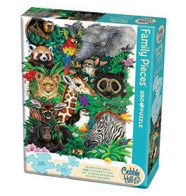 Cobble Hill Safari Babies 350 pc Family Puzzle