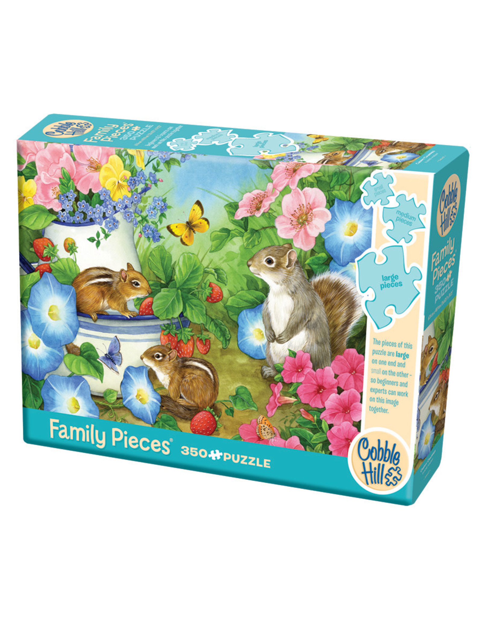 Cobble Hill Chippy Chappies 350 pc Family Puzzle