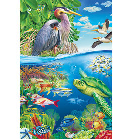 Cobble Hill Air and Sea floor puzzle