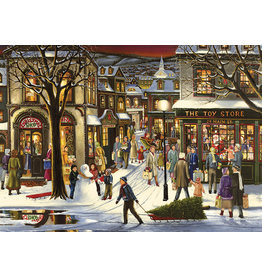 Cobble Hill Downtown Christmas Tray Puzzle