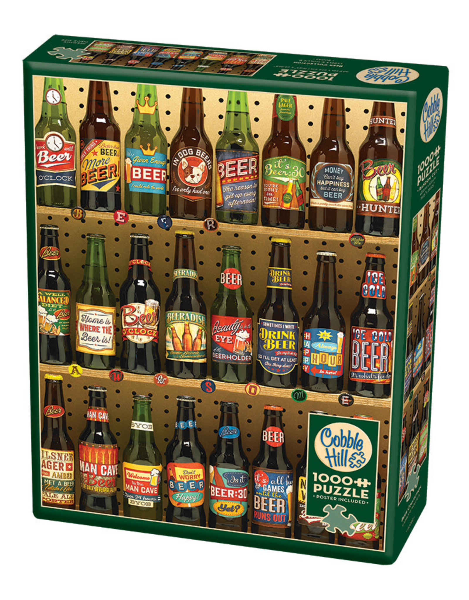 Cobble Hill Beer Collection 1000 pc