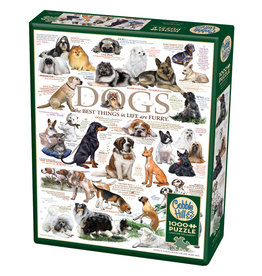 Cobble Hill Dog Quotes 1000 pc