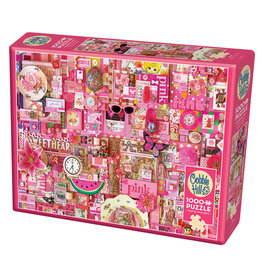 Cobble Hill Pink 1000 pc