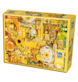 Cobble Hill Yellow 1000 pc