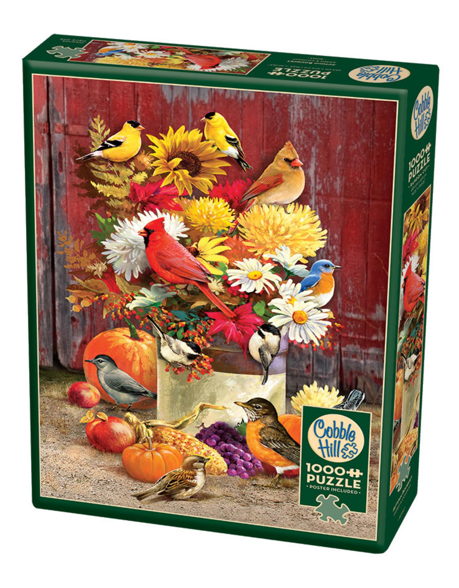 Cobble Hill Autumn Bouquet 1000 pc