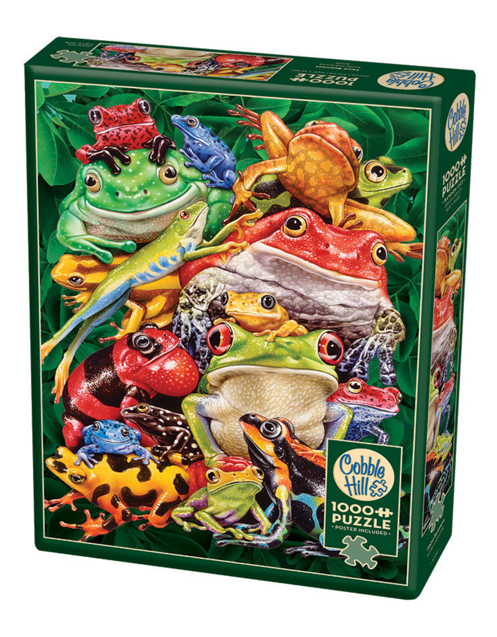 Cobble Hill Frog Business 1000 pc