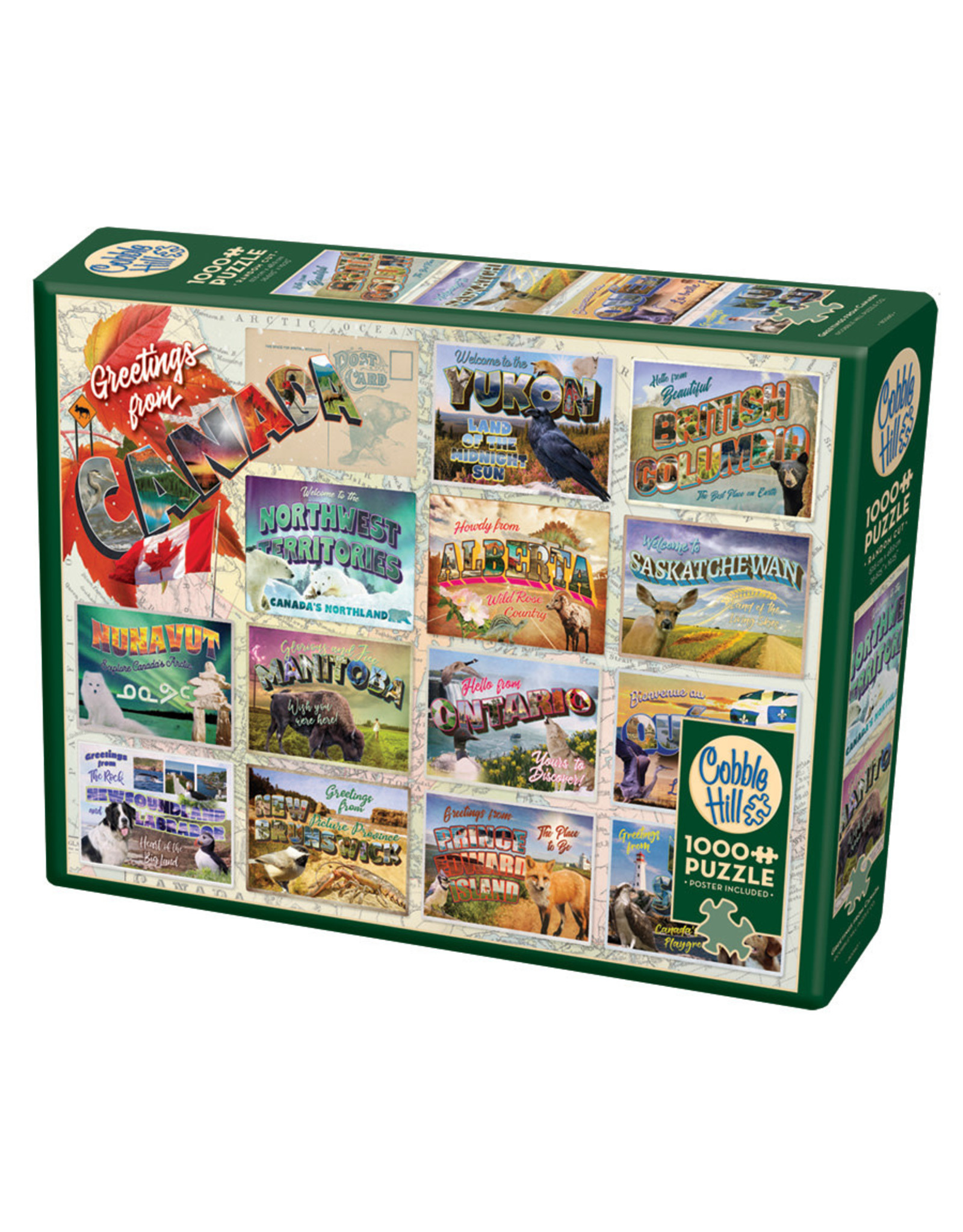 Cobble Hill Greetings from Canada 1000 pc