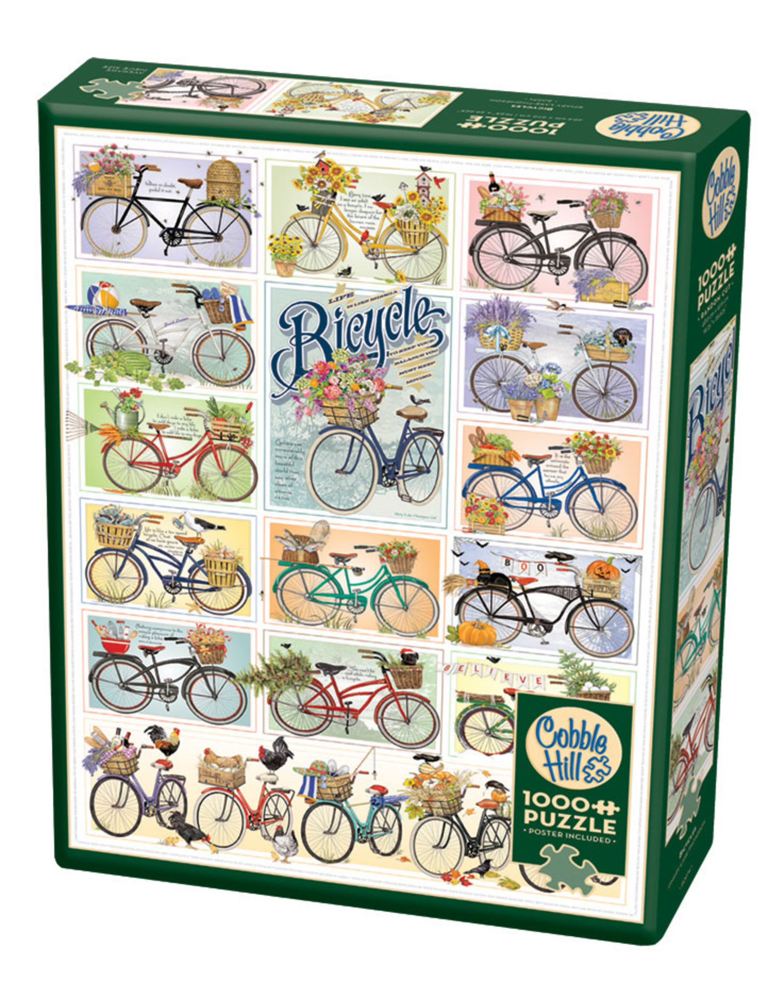 Cobble Hill Bicycles 1000 pc