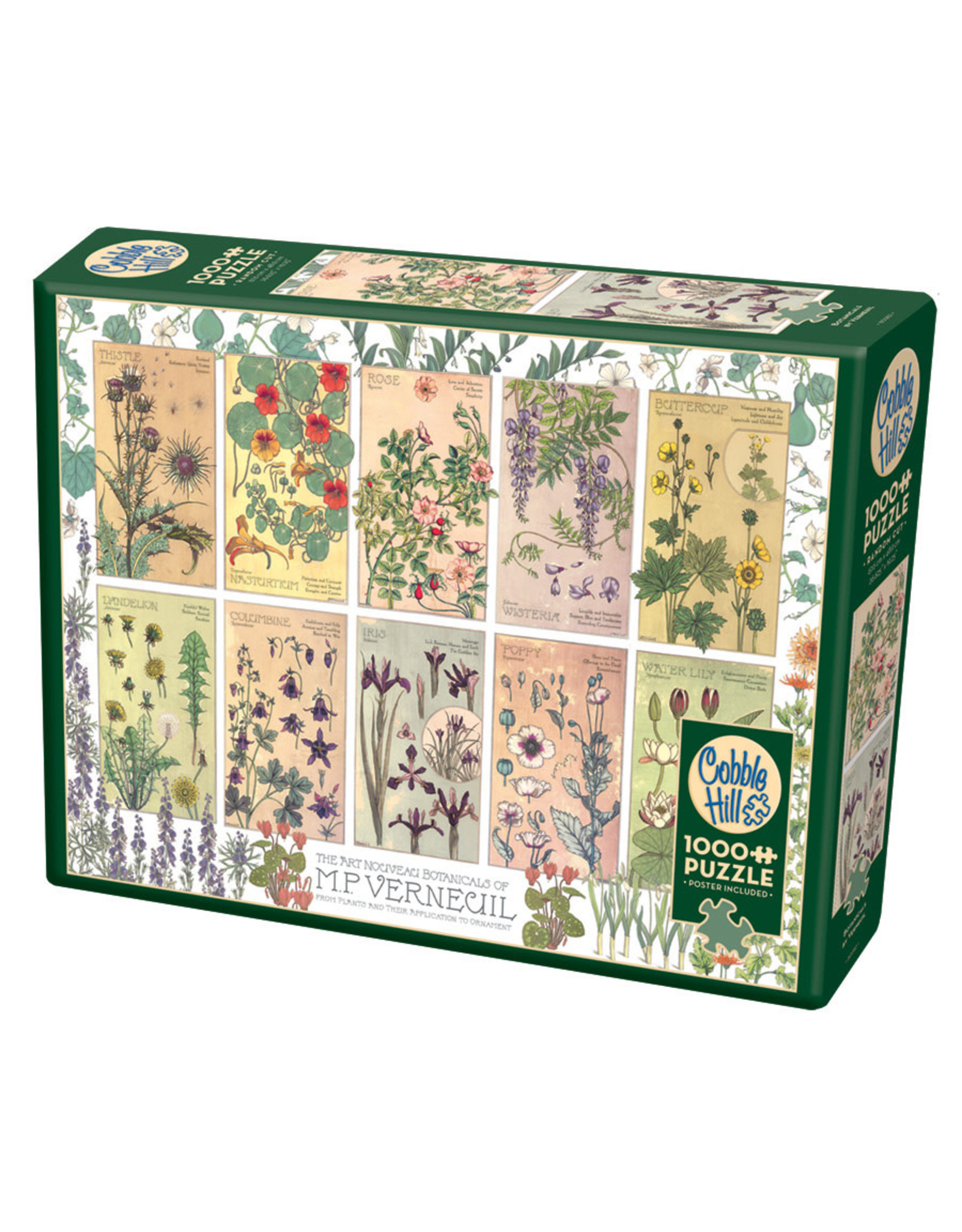 Cobble Hill Botanicals by Verneuil 1000 pc