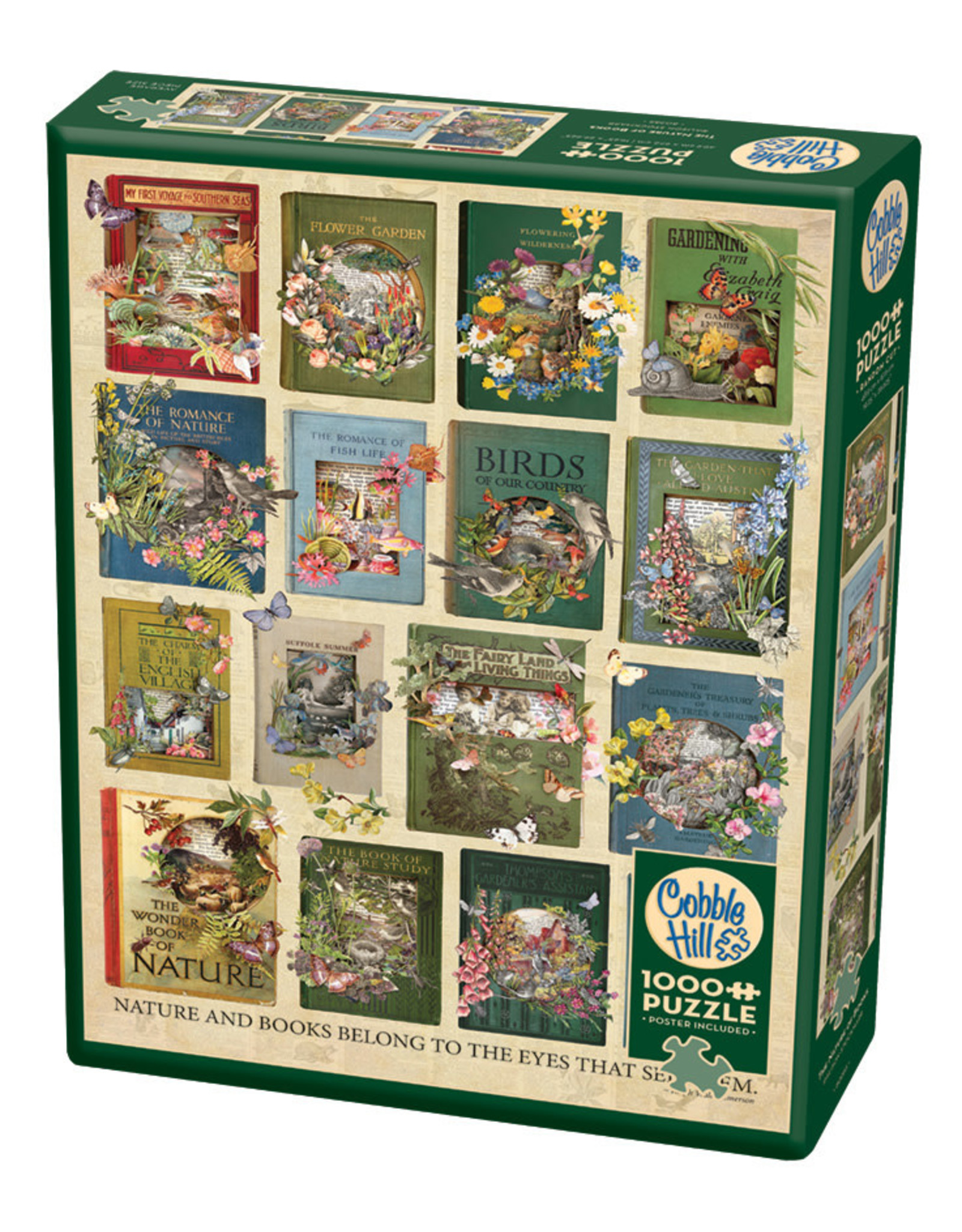Cobble Hill The Nature of Books 1000 pc