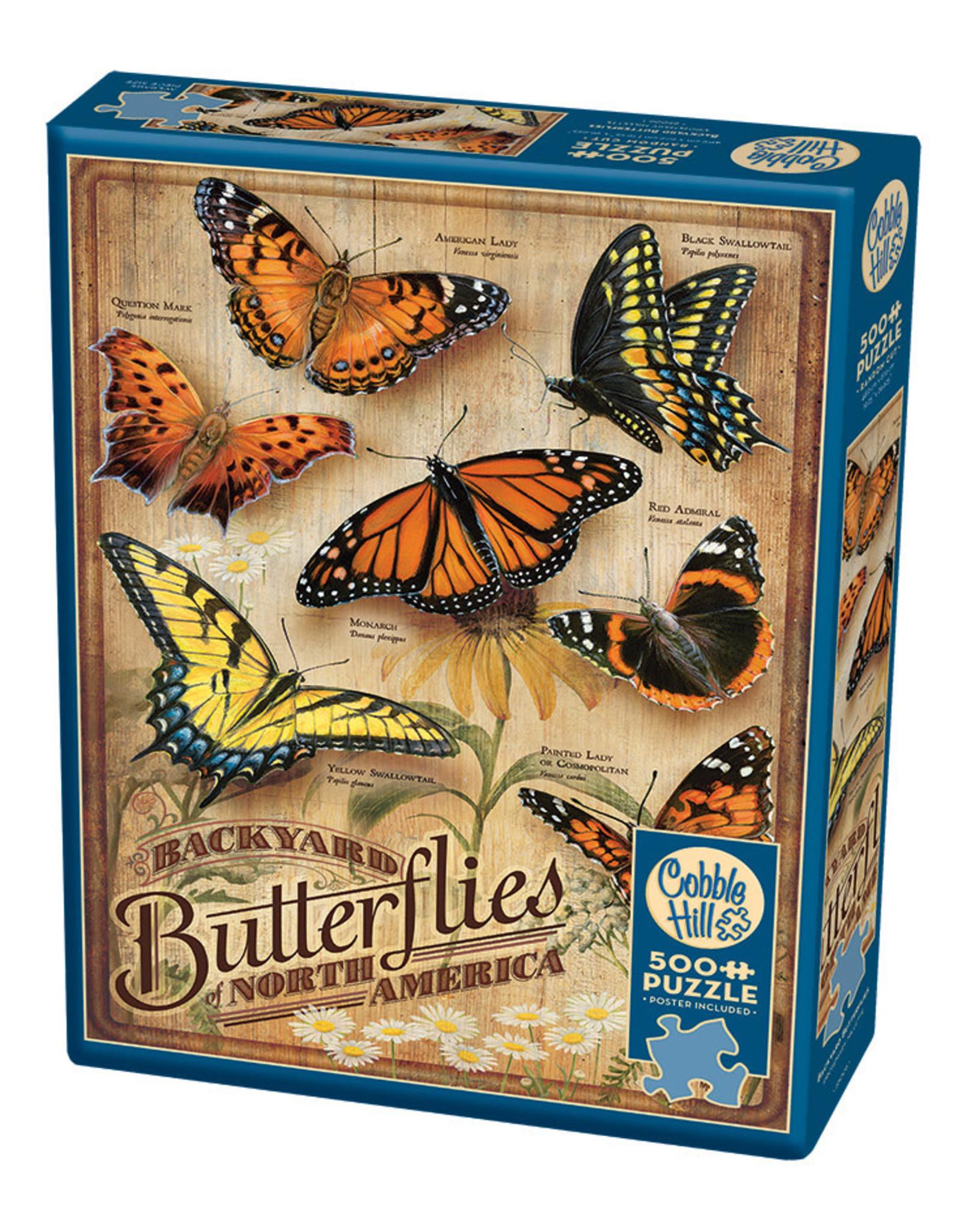 Cobble Hill Backyard Butterflies 500 pc