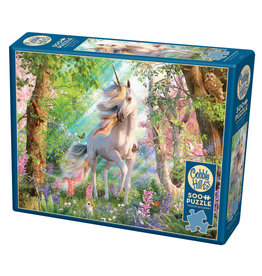 Cobble Hill Unicorn in the Woods 500 pc