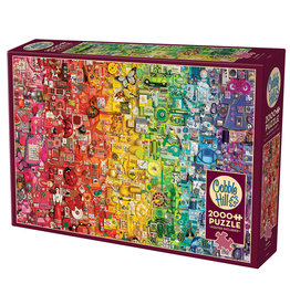 Cobble Hill Rainbow 2000 pc