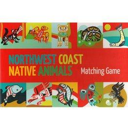 Native Northwest Northwest Coast Native Animals Matching Game