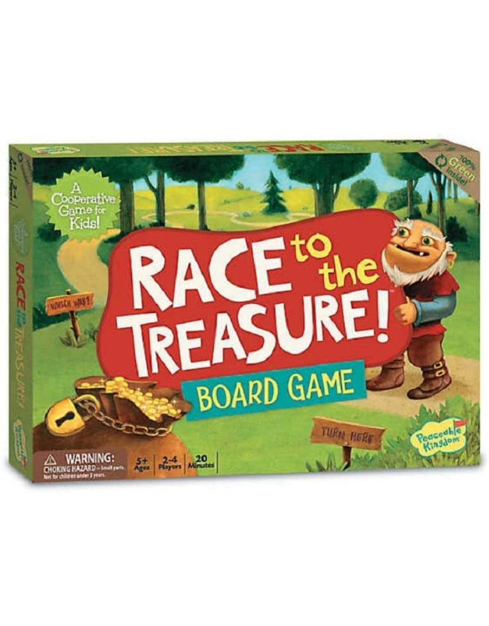 Peaceable Kingdom Race To The Treasure