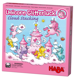 Haba Unicorn Glitterluck Cloud Stacking