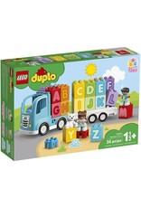 Lego Alphabet Truck