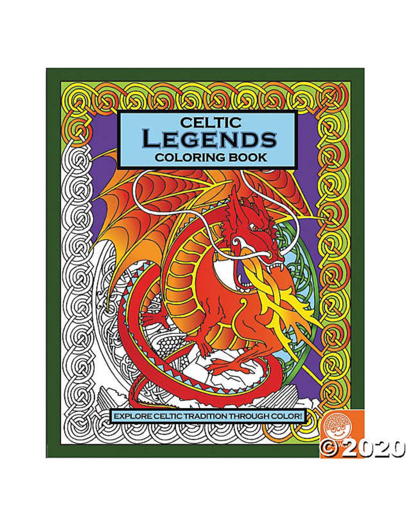 Mindware Celtic Legends Coloring Book