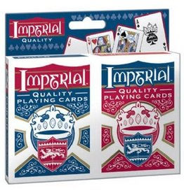 Imperial Twin Pack Poker Playing Cards