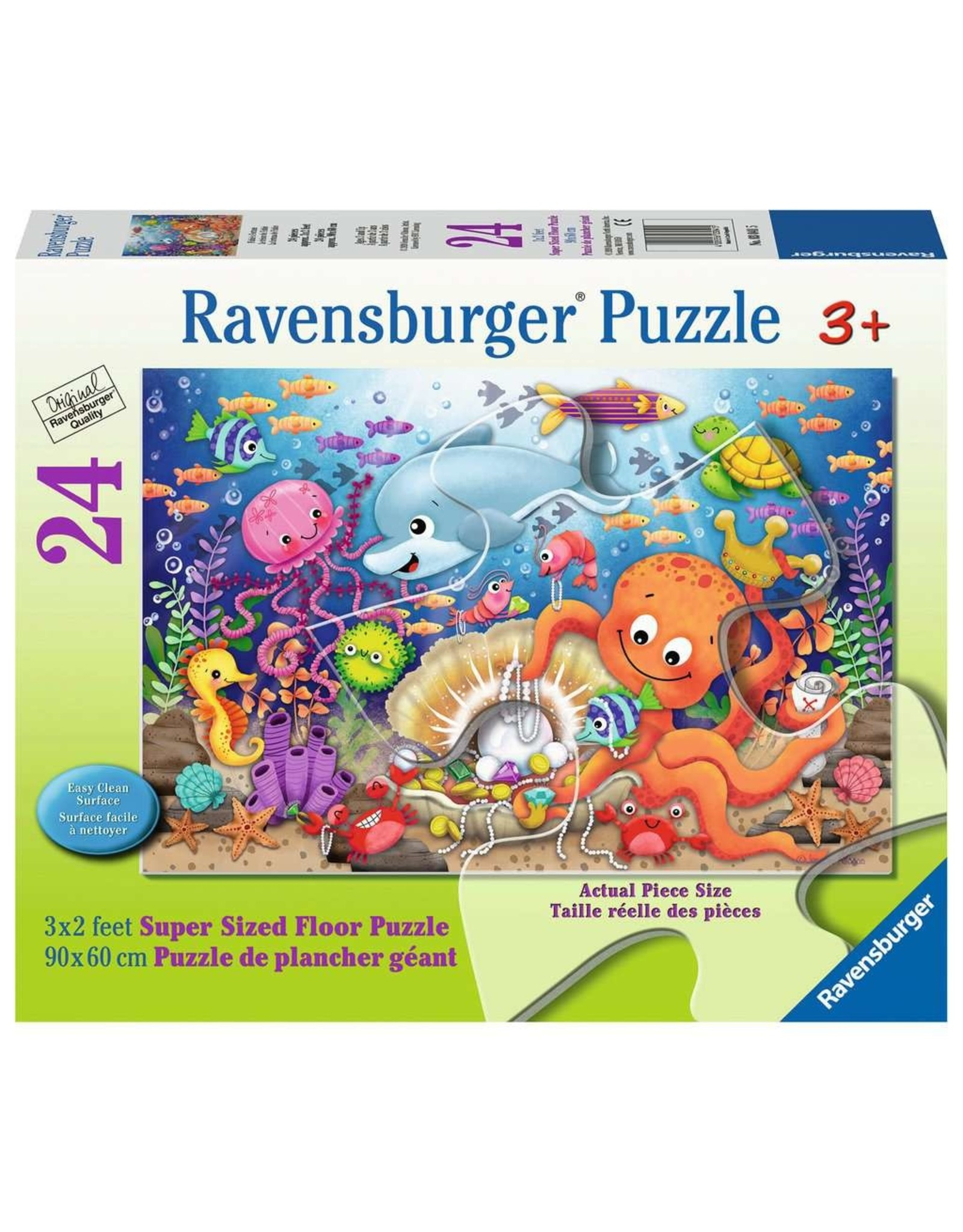 Ravensburger Fishie's Fortune 24 pc Floor Puzzle