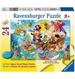 Ravensburger Land Ahoy 24 pc Floor Puzzle
