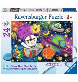 Ravensburger Space Rocket 24 pc floor puzzle