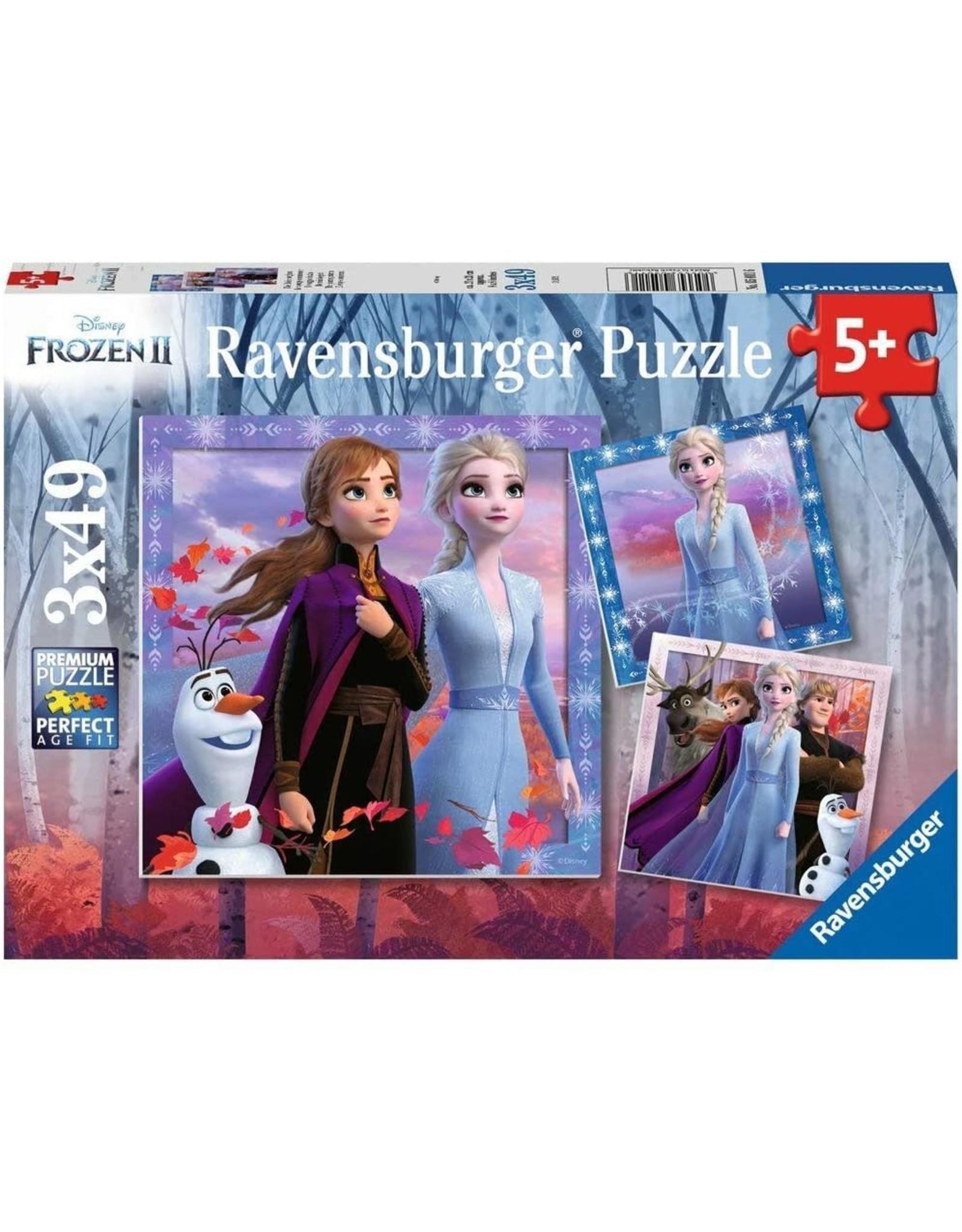 Ravensburger Frozen: The Journey Starts 3x49 pc