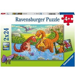 Ravensburger Dinosaurs at Play 2x24 pc
