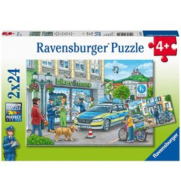 Ravensburger Police At Work 2x24pc