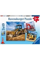 Ravensburger Diggers At Work! 3x49 pc