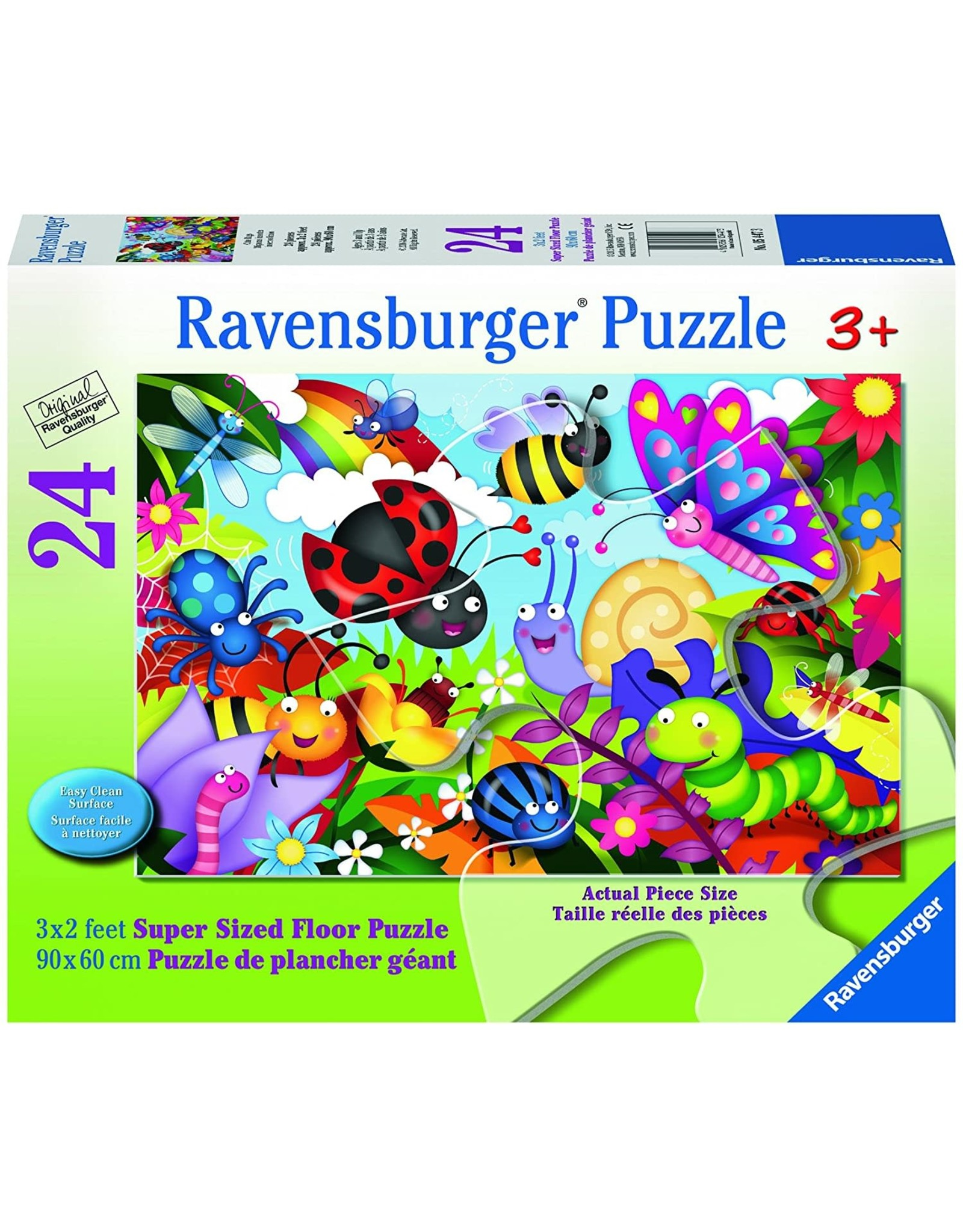 Ravensburger Cute Bugs 24 pc Floor Puzzle