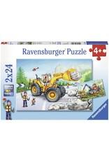 Ravensburger Diggers at Work 2x24 pc