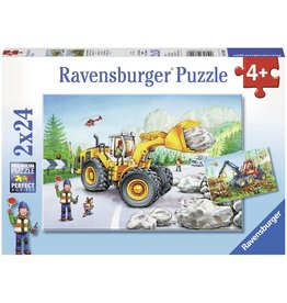 Ravensburger Diggers at Work 2x24 pc