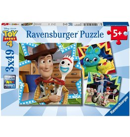 Ravensburger Toy Story 4: In it Together 3x49 pc