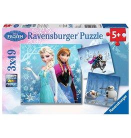 Ravensburger Frozen: Winter Adventures 3x49 pc