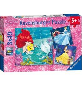 Ravensburger Princesses Adventure 3x49 pc