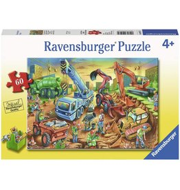 Ravensburger Construction Crew 60 pc