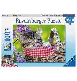 Ravensburger Sleeping Kitten 100 pc