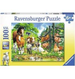 Ravensburger Animals Get Together 100 pc