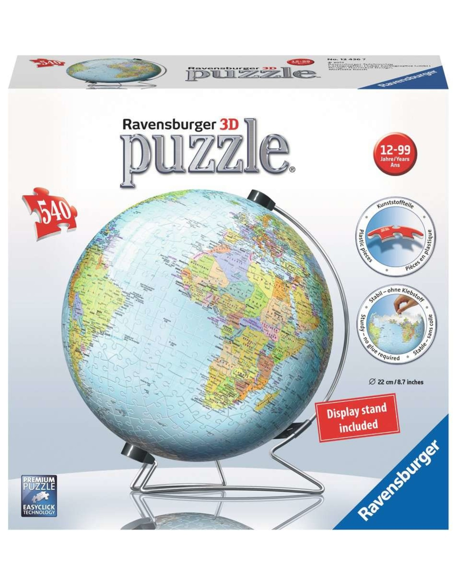 Ravensburger Puzzle Ball 540 pc The Earth