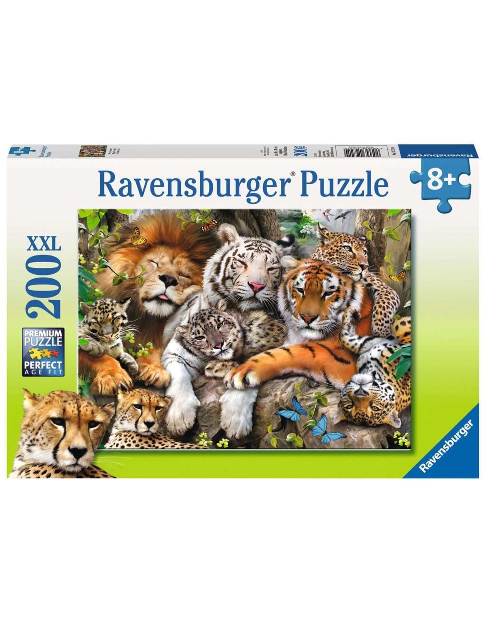 Ravensburger Big Cat Nap 200 pc
