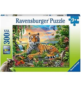Ravensburger Jungle Tiger at Sunset 300 pc