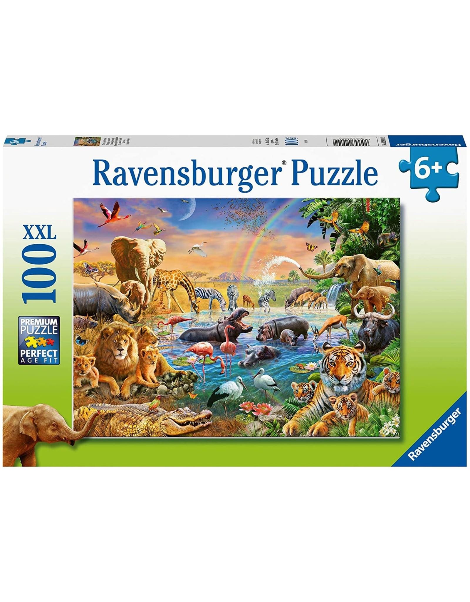 Ravensburger Savannah Jungle Waterhole 100 pc