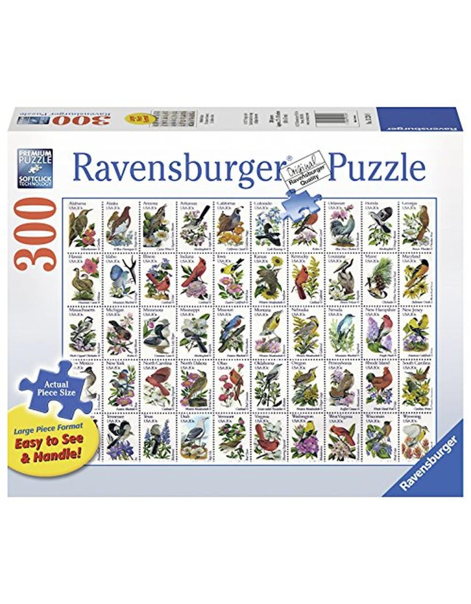 Ravensburger 50 Bird Stamps 300 pc